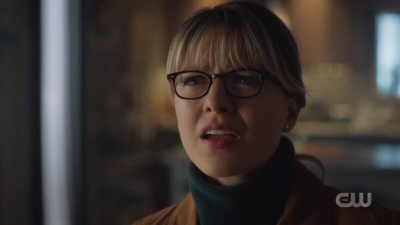 Kara looks angry and hurt