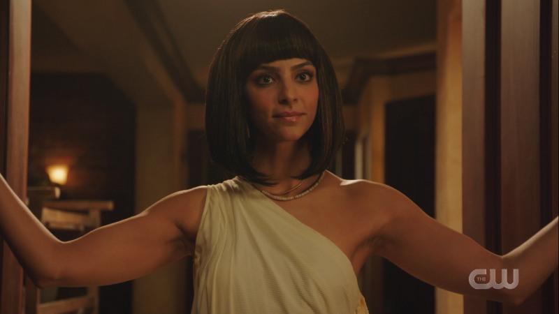 Zari as Cleopatra