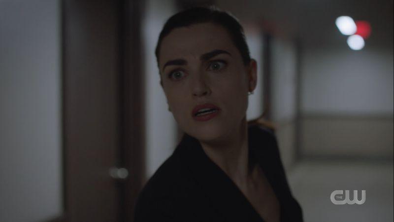 Lena looks panicked