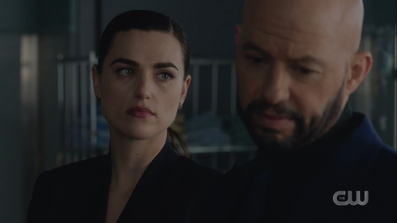 lena glares at lex