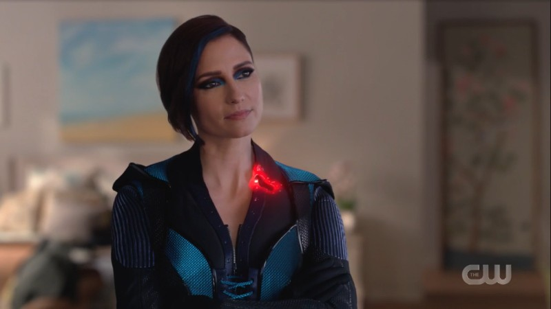 Alex in her new suit