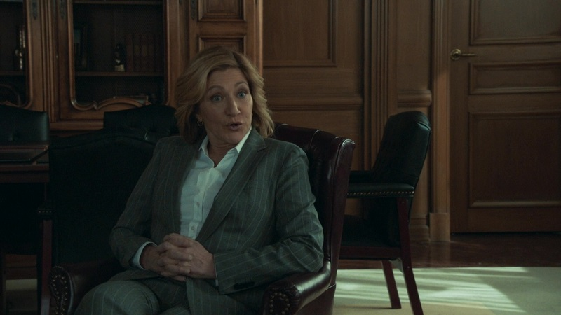 I'm miss Edie Falco in these suits.