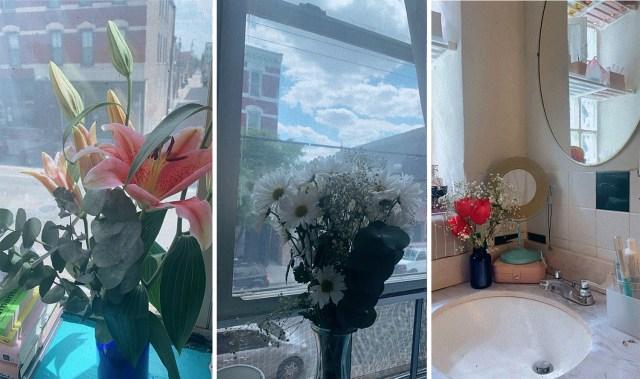 three of shelli's flowers