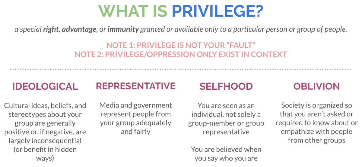 basic definition of privilege