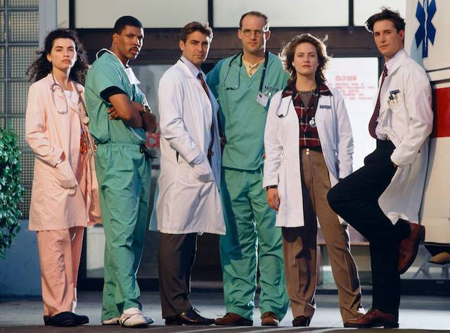 The Cast of ER