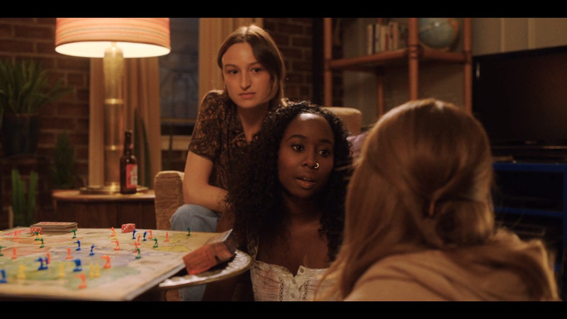 Mallory talks to Darby