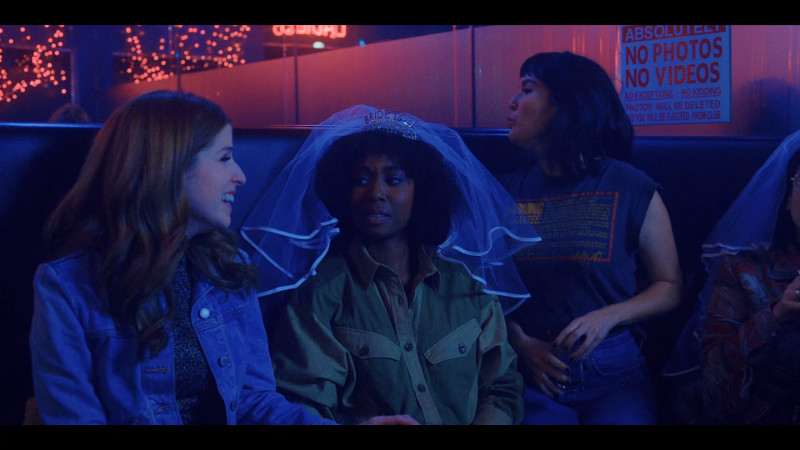 darby, mallory and sara in a strip club