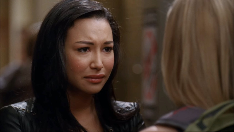 santana with a single tear