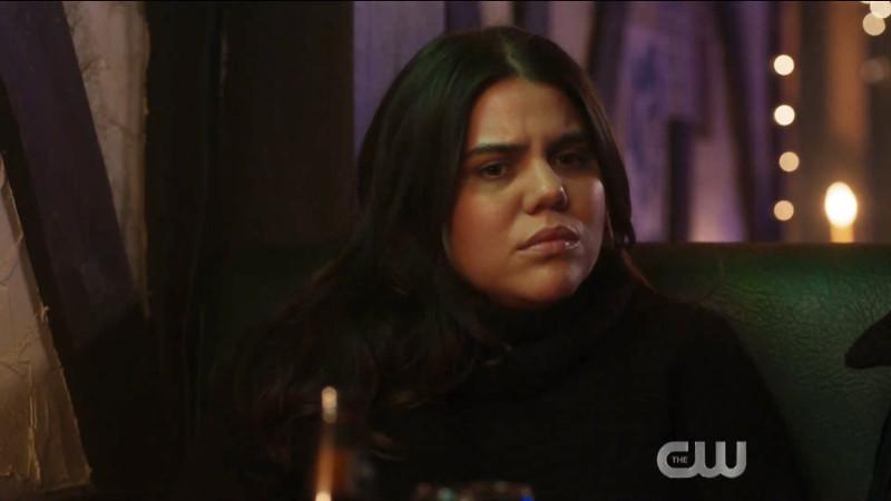 jess looking mildly displeased