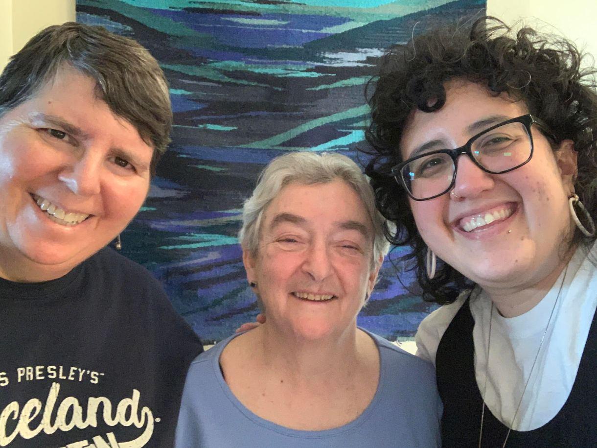 Desma, Miriam, and Lena Ruth