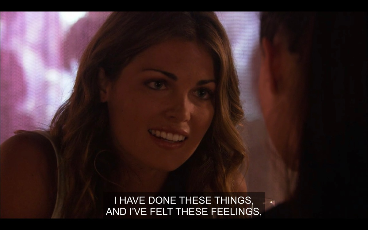 """Niki saying, """"I have done these things, and I've felt these feelings"""""""