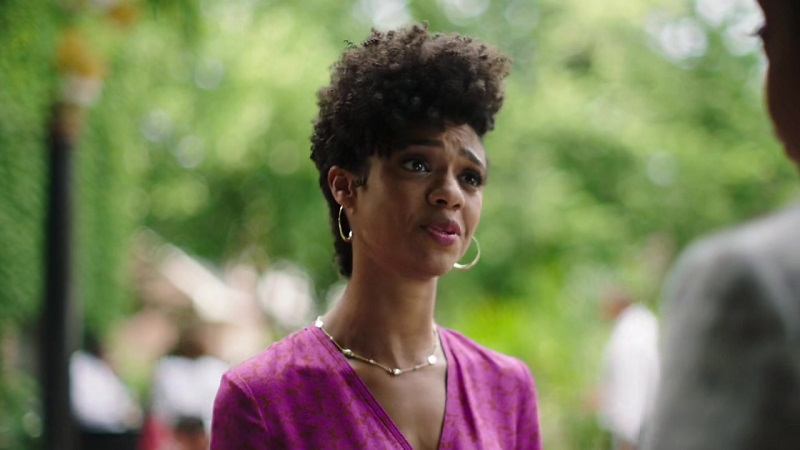 Tiffany Boone as Jerrika during The Chi's second season.