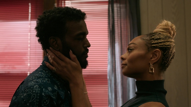 The Chi added two new characters this season: Trig, Jake's previously unseen older brother, and his wife, Imani.