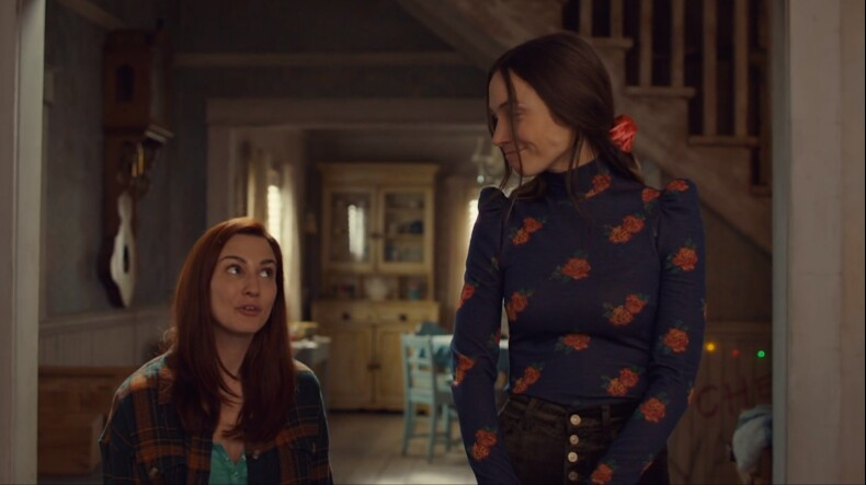 Waverly and Nicole share smiles
