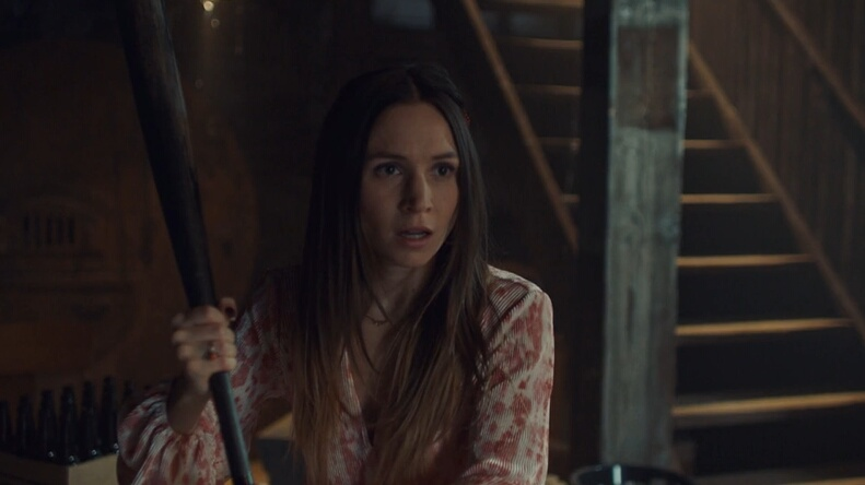 waverly with a bat