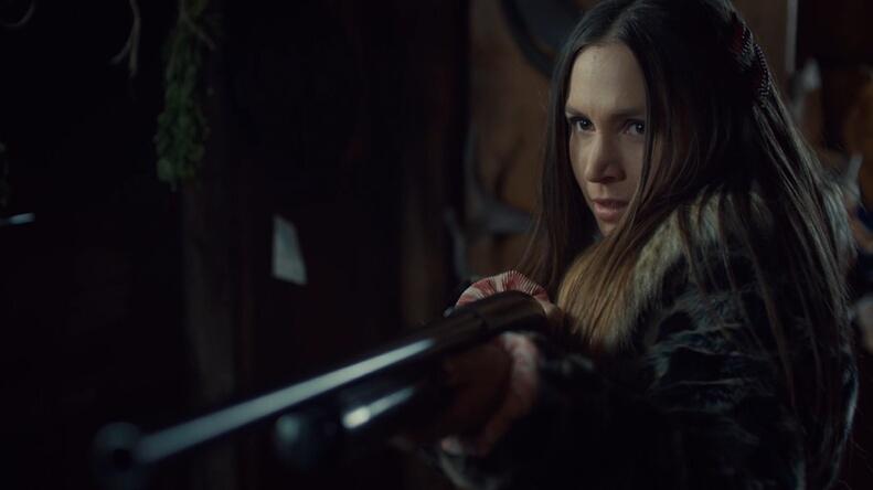 waverly and her shotgun