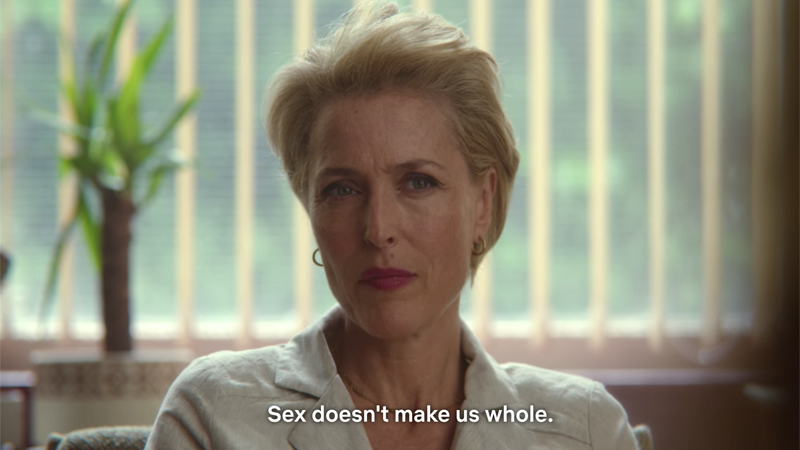 """Sex Education, Jean to Florence: """"Sex doesn't make us whole."""""""