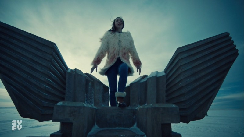 waverly climbs into her throne