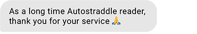 As a long time Autostraddle reader, thank you for your service (prayer hands emoji)