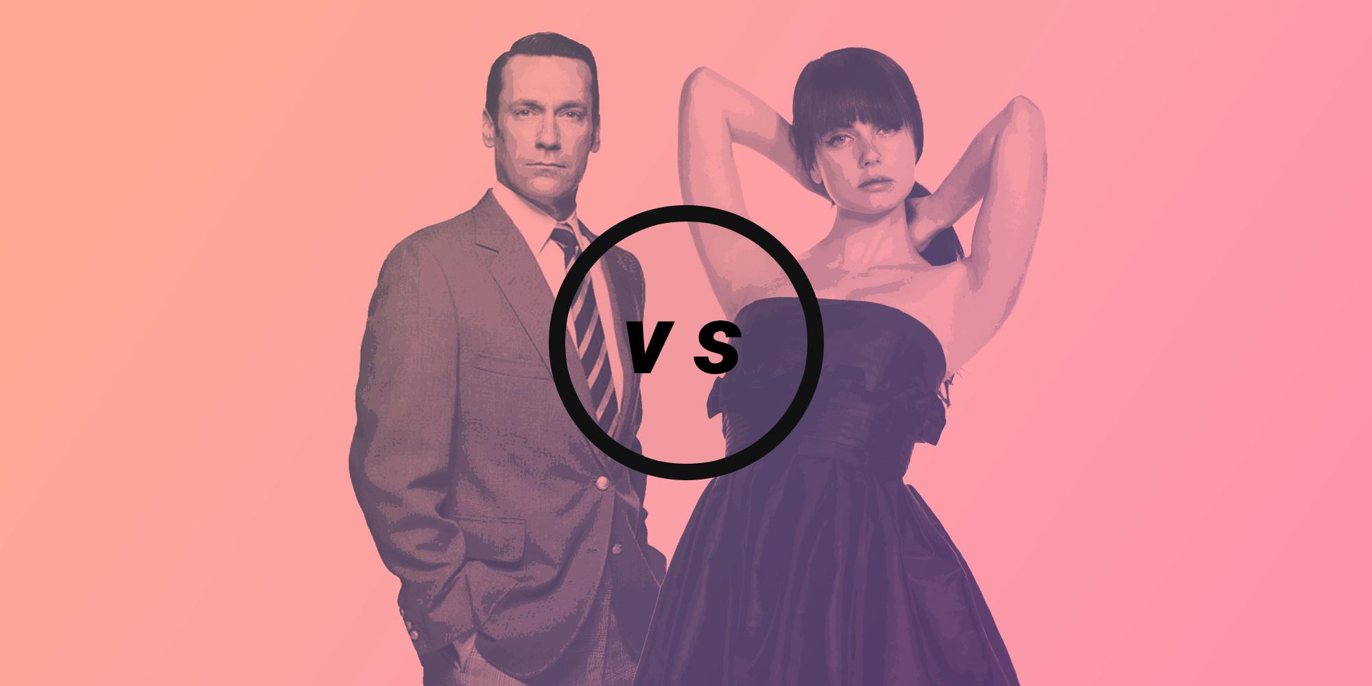 don draper versus jenny schecter