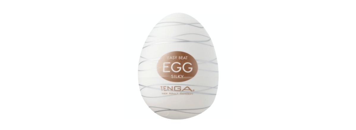 an egg-shaped tenga egg