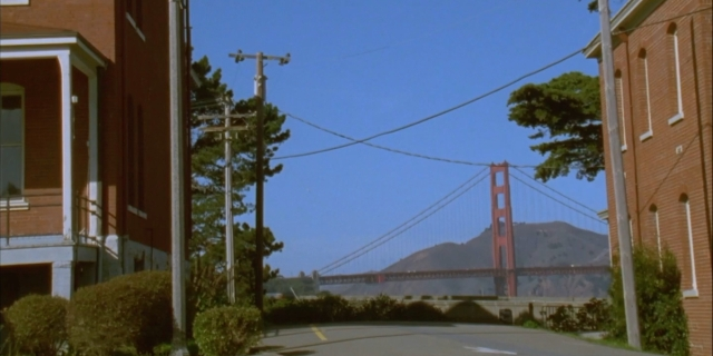 A still of San Francisco from Jenni Olson's films