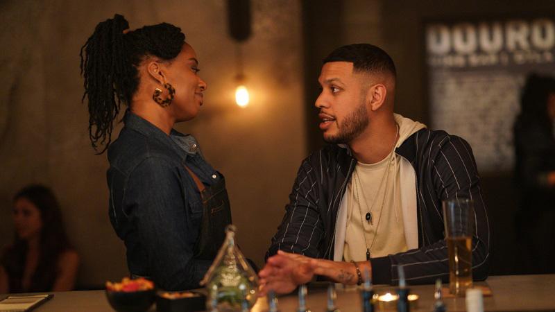 Malika and Isaac on Good Trouble