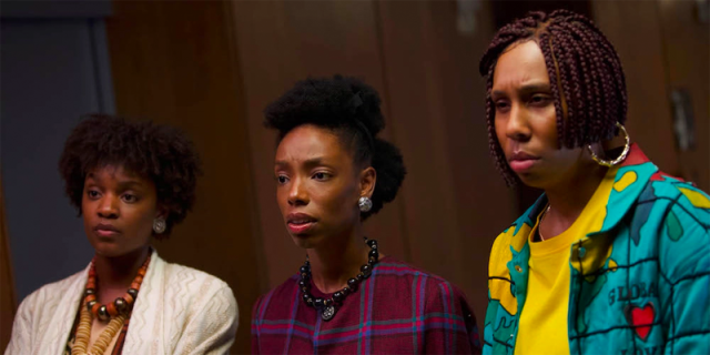 Elle Lorraine and Lena Waithe in Bad Hair