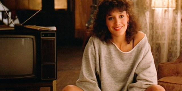 Jennifer Beals in Flashdance.