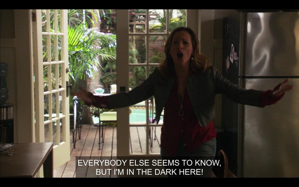 Jodi yelling at Bette