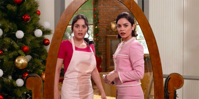 Vanessa Hudgens as two different characters in Princess Switch