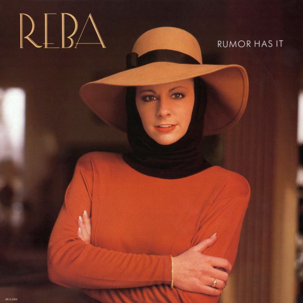 """The cover art of Reba McEntire's """"Rumor Has It"""" album"""