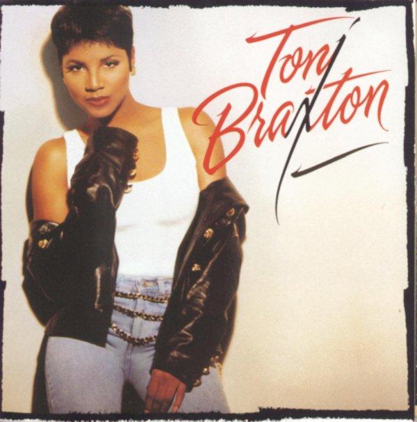 The cover art of Toni Braxton's self-titled album