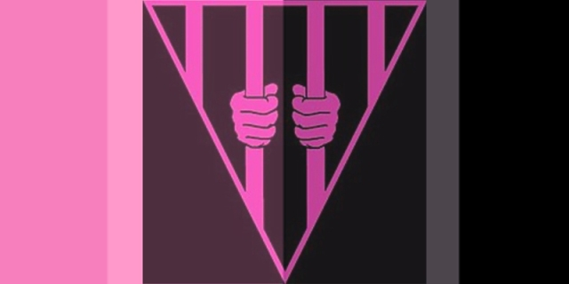 """The """"Black & Pink"""" logo against a shaded background of pink and black hues"""