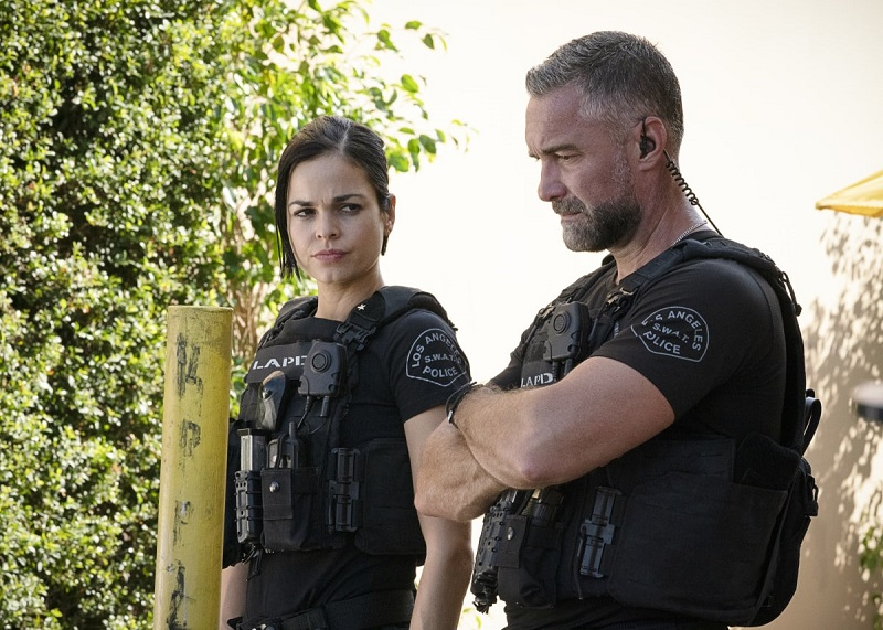 Chris and Deacon work to take down a cult leader on this week's episode of S.W.A.T.