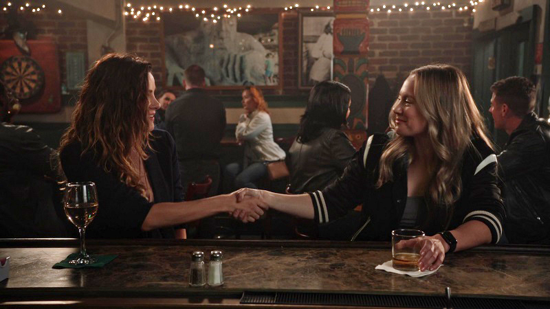 Maya and Carina from Station 19 make the Best TV Couples of 2020 list for the first time.