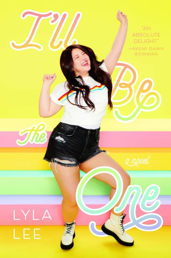 Cover of I'll Be The One, a Korean girl dancing joyfully in front of a colorful background