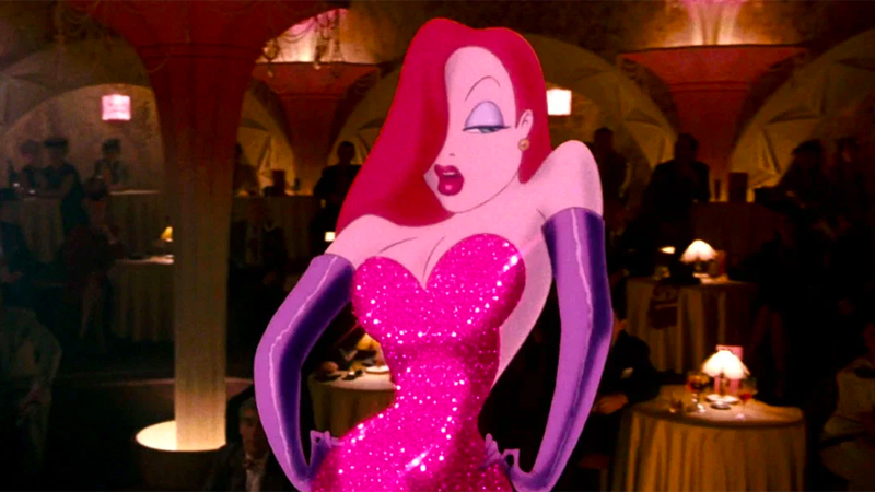 Jessica Rabbit croons a sultry tune.