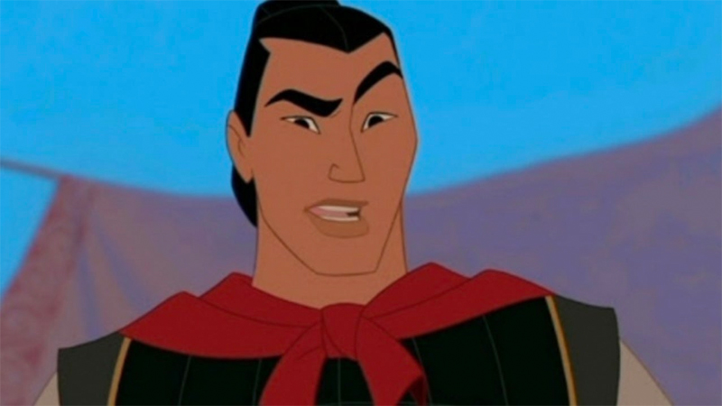 Li Shang quirks his eyebrows in confusion.