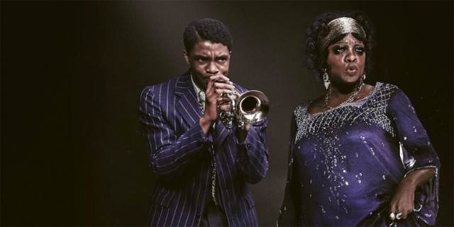 Viola Davis and Chadwick Boseman in Ma Rainey's Black Bottom