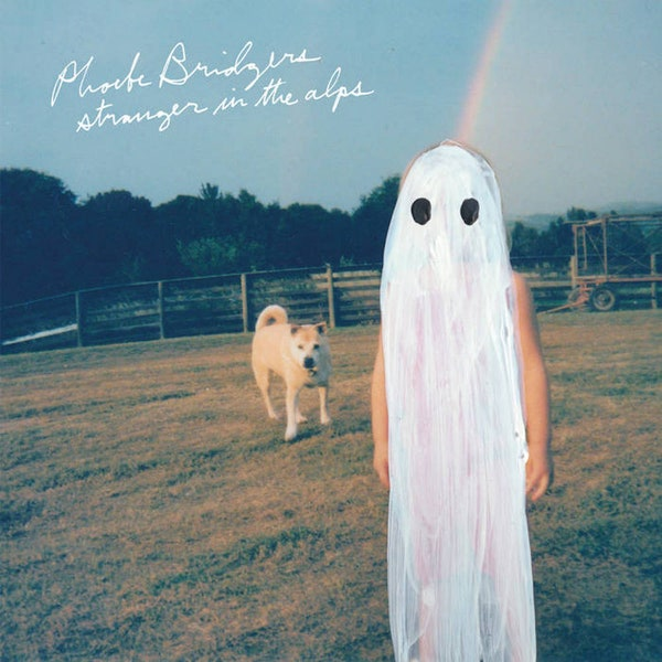 """The cover art of Phoebe Bridgers' """" Stranger in the Alps cover"""