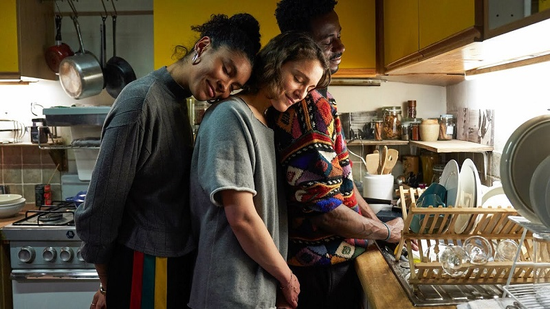 Our only throuple on the Best Queer TV Couples of 2020 list!