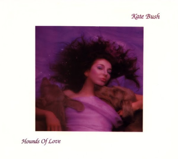 """The cover art of Kate Bush's """"Hounds of Love"""""""