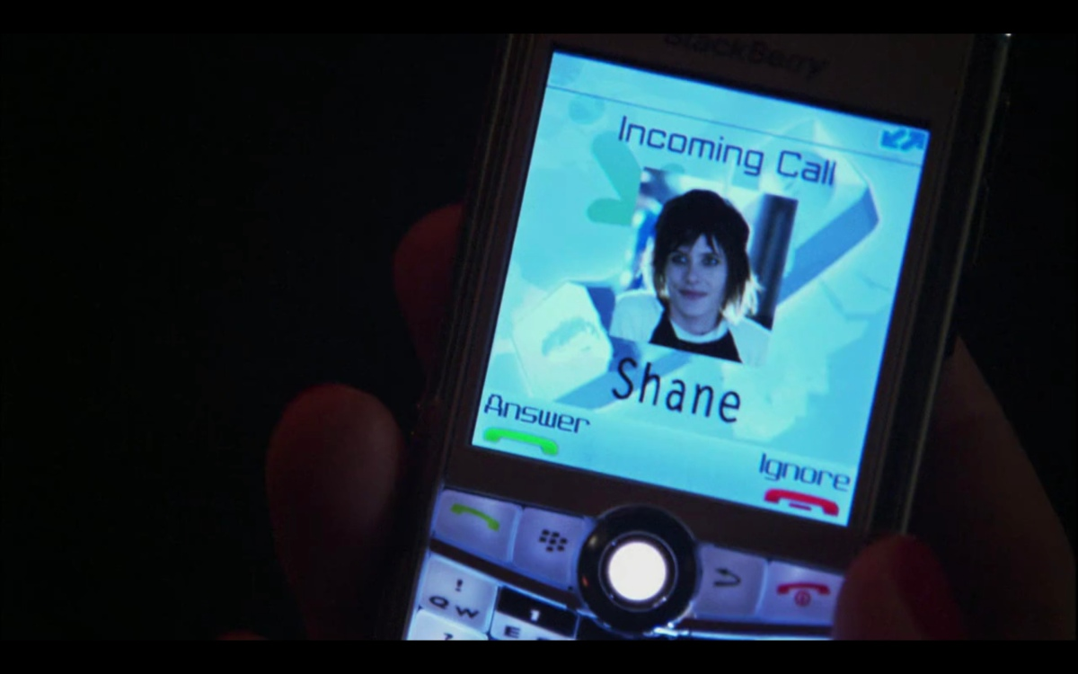 shane's picture on an incoming phone call
