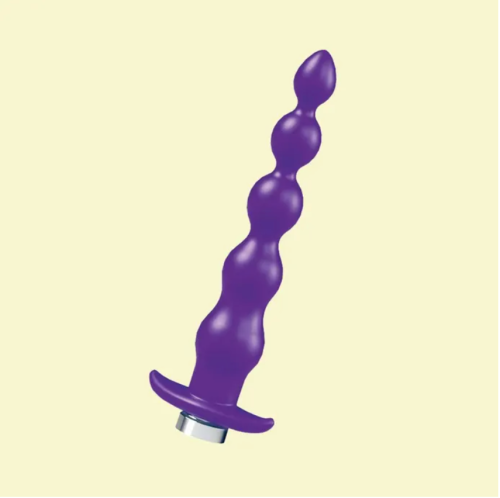 quaker - a ridged vibrator in purple