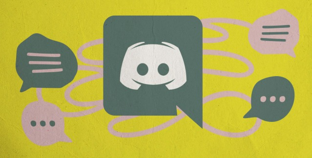An image featuring the discord logo and little chat bubbles