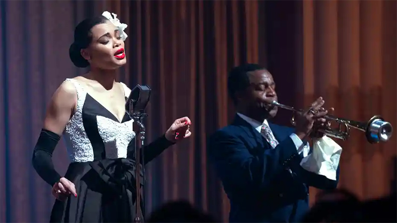 Andra Day performs as Billie Holiday