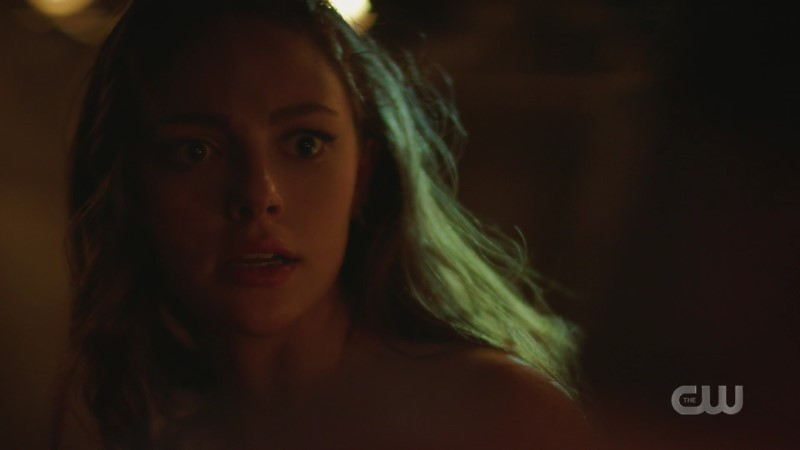 hope looks to be in pain on legacies