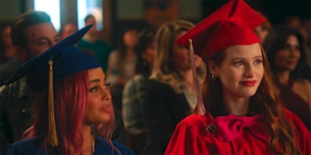 Cheryl and Toni on graduation day.