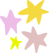 divider multicolored stars